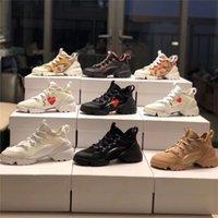 2021 Luxurys Tasarımcılar Ayakkabı D-Connect Yüksek Kalite Kız Tuval Rahat Ayakkabılar Bahar Ve Güz Moda Konforlu Bayan Açık Platformu Kutusu