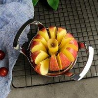 Çinko Alaşım Apple Kesici Dilimleme Bölücü Weter Corer Araçları Dayanıklı Ultra Keskin Ev Yemek Bar Parti Meyve Kesme 12 Dilim HWF7367