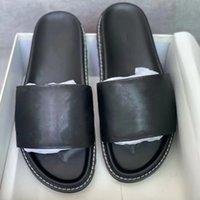 Женщины возрождающиеся мулы тапочки тиснение тиснение печать лампцкинских сандалий слайды квартиры черные скольжения на тапочные дамы на открытом воздухе на открытом воздухе