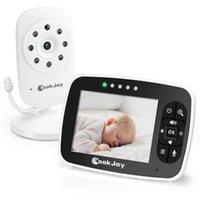 Moniteur de bébé vidéo 2.4GHz avec moniteurs d'écran LCD de 3,5 pouces