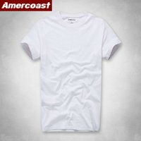 T gömlek af kısa kollu erkek renk yaz saf pamuk basit boş t-shirt T50A