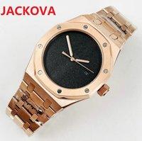 42mm full 904L stainless steel wristwatch men Automatic Mechanical 2813 Movement Rose Gold Black Dial Waterproof Sports Self-wind Week Calendar Wristwatches Gift