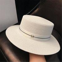 Summer Bucket Hat Sun Ladies Straw Fedora Top Unisex And Activity Wide Brim Hats