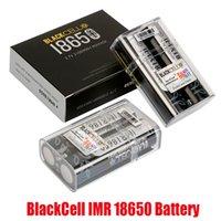 أصيلة Blackcell IMR 18650 البطارية 3100 مللي أمبير 40A 3.7 فولت ارتفاع استنزاف قابلة للشحن شقة أعلى vape مربع وزارة الدفاع بطاريات ليثيوم الساخنة 100٪ حقيقية