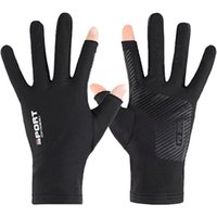 Cycling Gloves Bicycle Half Finger Bike Ultra Light Absorbing Sweat For Men And Women Outdoor Sports Fishing