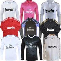 05 06 Real Madrid Retro Soccer Soccer Jersey 11 12 14 15 16 17 17 Ronaldo Benzema Bale Jerseys Motric Kaka Sergio Ramos Classic Vintage Shirt de football