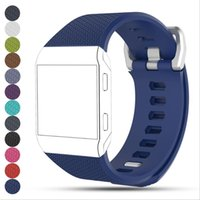 S L Multicolor سيليكون استبدال حزام الفرقة الأشرطة ل fitbit أيونية الكلاسيكية watchband سوار