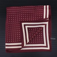 Scarves Spring Summer Scarf Silk Bandanna Women Fashion Square Head Neck Tie Band Professional Neckerchief