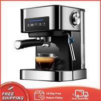 Coffee Makers Electric 20Bar Italian Maker Multi-function Steam Fancy Milk Froth Americano Espresso Machine Wand For Cappuccino,Mocha