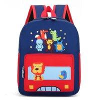 러그 찌크 Bolsa Infantil Menina 가방 학교 유치원 캔버스 스페이스 백 레저 여행 소녀 배낭 귀여운 만화 소년 가방