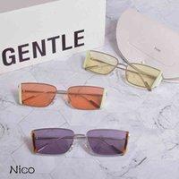 Gm 2021 New Style Small Square Polarized Uv400 Lens Sunglasses Gentle Nico Women Men Sun Glasses Monster for Small Faceetx9