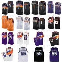 Devin 1 بوكر كرة السلة جيرسي كريس 3 بول رجالي ستيف 13 ناش 34 باركلي جيسون 55 ويليامز قميص