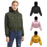 New arrived Big goose Thickened Women's Down Jacket Hooded Tooling Coat Fashion Loose Short Jacket North Side Face Casual Outdoor Plus size