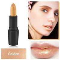 섹시한 황금 입술 광택 액체 쉬머 매트 립스틱 방수 금속 반짝이 챠밍 립글로스 입술 미용 메이크업 M8921