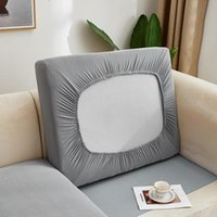 Chair Covers Solid Elastic Seat Cushion Cover Stretch Sofa For Living Room Furniture Protector Slipcover Couch Removable
