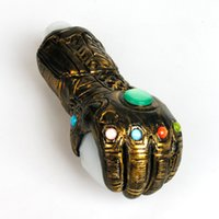 3D hand printing big size pipe Thanos Glass Pipes Unique Pot Tobacco Spoon