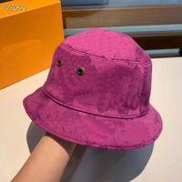 أزياء دلو هات L إلكتروني logo قبعة الصياد على الوجهين الرجال والنساء نفس الشمس الزخرفة 13 أنماط