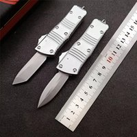 MT Knife Mini COMBAT TROO-DON Double Action Auto knife D2 Blade 6061-T6 Aluminum Handle outdoor self-defence Tactical Pocket Knives