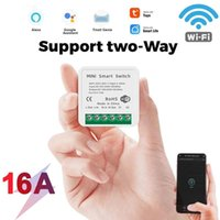Smart Home Control 10A 16A MINI Wifi Switch DIY 2-way Timer Automation For Tuya Life Work With Alexa Google