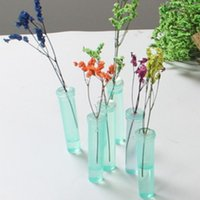 Planters & Pots 10pcs Plastic Flower Nutrition Tube With Cap Keep Fresh Hydroponic Container Floral Water Storage