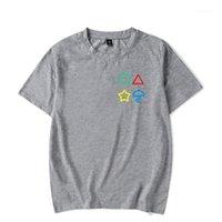 Men's T-Shirts Men Women Fashion 3D Squid Game Grey Print T-Shirt Short Sleeve Summer Casual Tops Loose O-Neck Top1