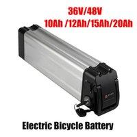 Quight Quality 24V 36V 48V 52V Электрическая велосипедная батарея 10ah 12ah 15Ah 20Ah 20Ah Бесплатные литиевые батареи пакеты