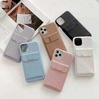 Top Brand Sac Designer Coffres de téléphone portable pour iPhone 12 Promax 12Pro 11 xs max xr x 8 plus accompagnez la couverture en cuir de boîte