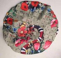 Tasarımcı Bonnets Cap Kadınlar Streç Uyku Türban Şapka Eşarp İpeksi Bonnet Kemik Beanies Caps Kanser Şapkalar Başkanı Saç Aksesuarları