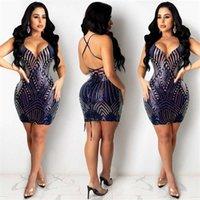 6RUAZ X5000 Pendantwomen's NightClub Bead Slining V-образным вырезом Платье Skirt X5000 Подвеска Pendantwomen's Sexty Beadant Nightclub Sexy Bead Sling V-NEC