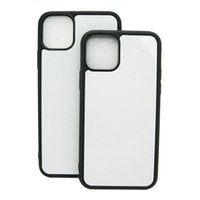 TPU+PC Blank 2D Sublimation Case Heat Transfer Phone Cases iPhone 13 12 Pro x xr xs max 7 8 Plus with Aluminum Inserts