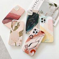 IMD paiting Soft TPU Cases for iPhone 12 Mini 11 Pro Promax X XS Max 7 8 Plus Stylish Printing Slim Case covers