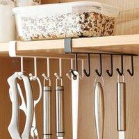 Multifunktionsaufhängerhaken Lager stärker frei von Punch-Lagerregal Hanging Cap-Papierregalen Kücheneisen