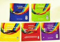 Skittles Mylar Bags 400mg Vazio Arco-íris Sour Edibles Candy Gummy Zipper Embalagem