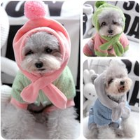 Ball Hats Dog Scarf Designer Clothes For Puppies Small Animal S XXL Snow Winter Thick Pet Down Parkas Overalls Coat Products Apparel