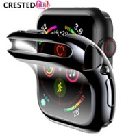Cover Case For Apple Watch band 44mm 40mm 42mm 38mm iwatch screen protector Accessories silicone bumper for apple watch 6 se 5 4 3 2