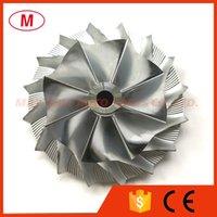 HX40 3599594 53.88 / 83.03mm 8 + 8 lame Perfromance Turbocompressore Turbo Billet Ruota compressore / alluminio 2618 / Ruota di fresatura per cummins 3593918/3599725/3598036/3599479