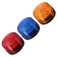 Red / Blue / Arancione LED Flash Siren 12V Security Light Alarm Strobe Avvertimento Lampada Singal Singal Systems