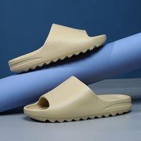 Top Quality 2021 Platform Slipper Sandalo Scarpe Schiuma Runner Confortevole Core puro Biack Resina Enflame Orange Bone Ovest Uomo Donna Donne Designer di Prestigio Sandali