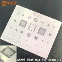 Ferramentas de reparação de celular Kirin970 Hi3670 CPU / RAM para Huawei P20 / P20 Pro / Mate 10 / 10Pro / RS / Honor 10 / V10 IC Chip BGA Reballing Stencil Templa
