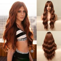Natural Blonde Full Lace Human Hair Wigs Virgin Brazilian Bo wave highlighted Wavy Wish long straight hairs wig female dark brown gloss Cosplay Halloween Xmas makeup