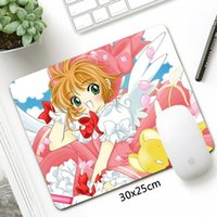 Mouse Pads & Wrist Rests 30X25cm Anime Card Captor Sakura MousePad Small Fashion Otaku Gaming Pad Gamer Lovely Girl Laptop Notebook Mat Offi