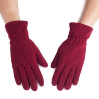 Cycling Gloves Men's And Women's Winter Driving Warm Riding Bicycles Motorcycles Touch Screen Fleece Outdoor Cold-proof Work Bike