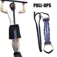 سحب ما يصل مساعدة عصابات المقاومة الفرقة للمنزل الصالة الرياضية الأساسية قوة التدريب الذقن يصل powerlifting اللياقة البدنية معدات تجريب العضلات