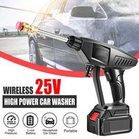 Car Washer 15000mAh Wireless High Pressure Wash Powerful Battery Water Gun Cleaning Machine Portable Cleaner