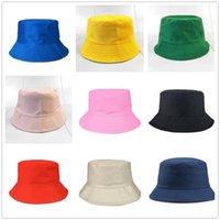 Wide Brim Hats Solid Women Bucket Hat For Men Hiking Cap Modern Unisex Whole Sale DROP Fisherman