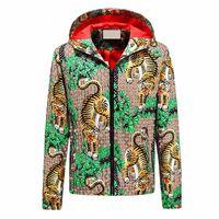 Moda Hombre Chaquetas Ropa Hombres Mujeres Impresas Chaqueta con capucha para hombre Diseñador para hombre Ropa de abrigo Outumn Stylist Man Abrigos Tamaño M-XXXL