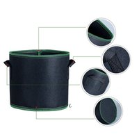 Gallon Grow Bags Heavy Duty Thickened Nonwoven Fabric Pots with Handles OWE6804
