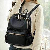 Backpack 2021 Classic Women's Man's Backpacks Black Fashion Oxford Cloth Large Capacity Waterproof Shoulder Bag