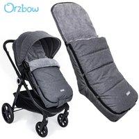 Diseñador Lujo Cochecito de lujo Orzbow Footmpuffin Mochilos para bebés Bebé Bebé Bebé Bolsos para dormir Calientes Niños Pram Bunting L Forma