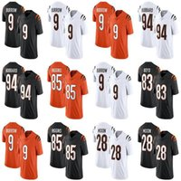 9 Joe Burrow 2021 Mens Womens Youth Football Jersey Jessie Bates III 94 Sam Hubbard 85 Tee Higgins 28 Mixon 83 타일러 Boyd Giovani Bernard Auden Tate Akeem Davis-Gaition
